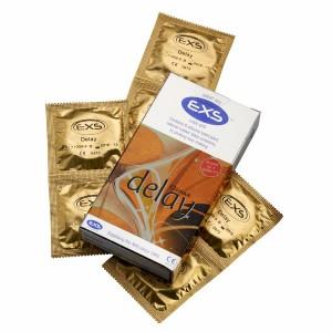 EXS Delay задържащи презервативи с релеф 20 бр.