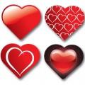 Pasante Heart 12 бр.