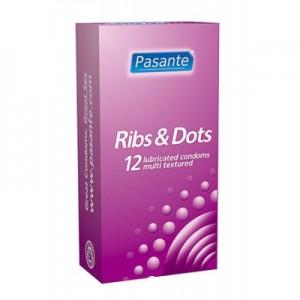 Pasante Ribs & Dots 12 бр.
