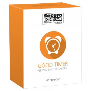 12 бр. Задържащи презервативи Good Timer